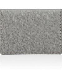 Barneys New York - Leather Folding Card Case - Lyst