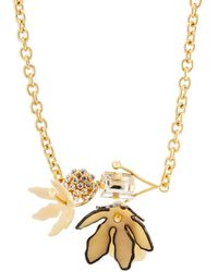 Marni - Floral Centerpiece Necklace - Lyst