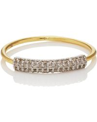 Ileana Makri - Half Crown Ring Size 6 - Lyst