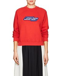 Fiorucci - Bowie Cotton Fleece Sweatshirt - Lyst