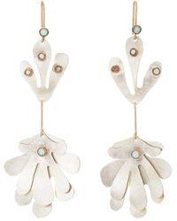 Julie Wolfe - Plant-shaped Drop Earrings - Lyst