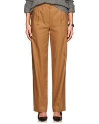 The Row - Thea Piqué Linen-cotton Cargo Trousers - Lyst