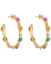 Sylvia Toledano - Petite Candy Hoop Earrings - Lyst
