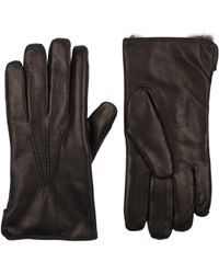 Barneys New York - Fur-lined Gloves - Lyst