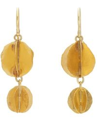 Judy Geib - Whirligig Double-drop Earrings - Lyst