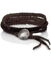 Feathered Soul - #indiana Wrap Bracelet - Lyst