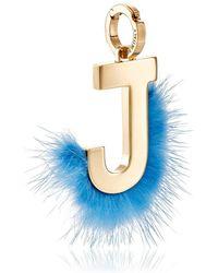 Fendi - Abclick J Bag Charm - Lyst