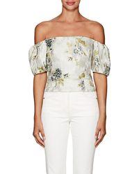 Brock Collection - Boie Floral Off-the-shoulder Blouse - Lyst