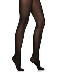 a16b1b87088 Wolford Velvet De Luxe Tights in Black - Save 15% - Lyst