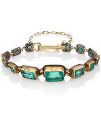Judy Geib - Colombian Emerald Riviere Bracelet - Lyst