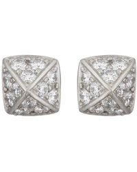 Linda Lee Johnson - La Pyramide Trois Stud Earrings - Lyst