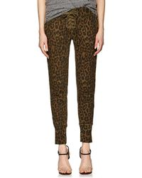 NSF - Maddox Lace-up Leopard - Lyst