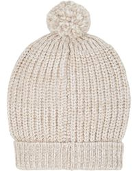 Barneys New York - Chunky Rib-knit Wool - Lyst