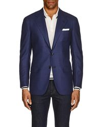 Kiton - Kb Neat Cashmere Two-button Sportcoat - Lyst