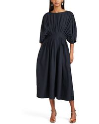 Co. - Pleated Midi-dress - Lyst