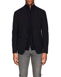 Giorgio Armani - Stretch-wool-blend Two-button Sportcoat - Lyst