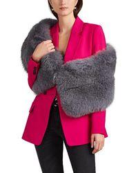 Lilly E Violetta - Limited Edition Fox Fur Stole - Lyst