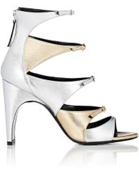 Pierre Hardy - Multiple Front Straps Sandals - Lyst