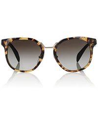 Prada - Rounded Square Sunglasses - Lyst