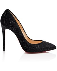 Christian Louboutin - Pigalle Follies Velvet Pumps - Lyst