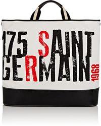 Sonia Rykiel - Le Sailor Oversized Canvas Tote Bag - Lyst