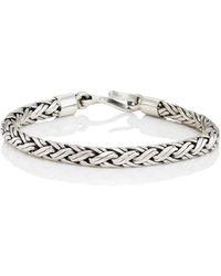 Caputo & Co. - Spiga Chain Bracelet - Lyst