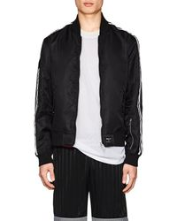 The Very Warm - Reversible Bomber Jacket - Lyst