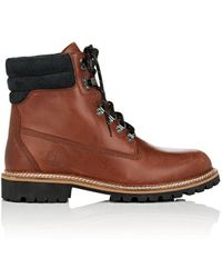 Timberland - Bny Sole Series: Burnished Leather Lace-up Boots - Lyst