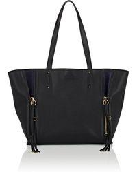 Chloé - Milo Medium Leather Tote Bag - Lyst