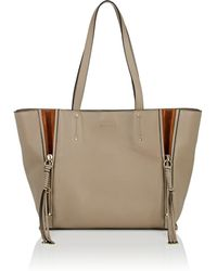 Chloé - Milo Medium Leather Tote Bag - Lyst