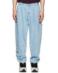 Gosha Rubchinskiy - Pleated Carpenter Jeans - Lyst