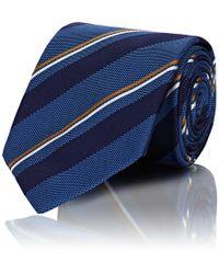 Bigi - Striped Textured Silk Necktie - Lyst
