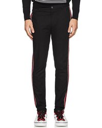 Givenchy - Striped Cotton Trousers - Lyst