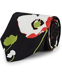 Alexander Olch - Floral Silk Twill Necktie - Lyst