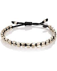 M. Cohen - Beaded Waxed Cord Bracelet - Lyst