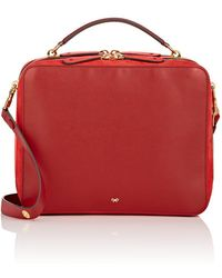 Anya Hindmarch | The Stack Double Leather Satchel | Lyst