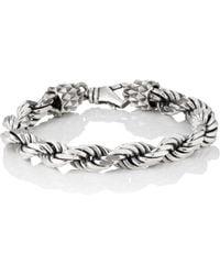 Emanuele Bicocchi - French Rope-chain Bracelet - Lyst