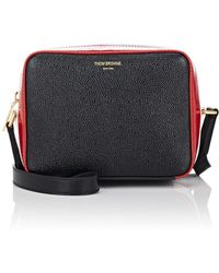 Thom Browne - Mini Bisiness Bag In Patent Grained Leather - Lyst