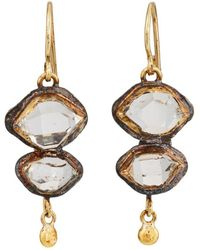 Judy Geib - Herkimer Diamond Double - Lyst