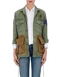 813 Ottotredici - Drawstring Cotton Field Jacket - Lyst