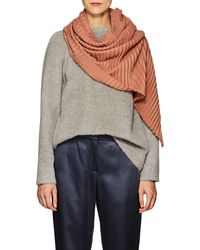 Destin - Crinkled Basket-weave Wool - Lyst