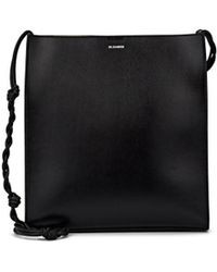 Jil Sander - Tangle Medium Leather Crossbody Bag - Lyst