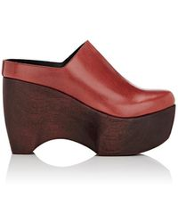 Simon Miller - Leather Platform Clogs - Lyst