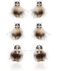Deakin & Francis - Hairy Viking Skull Formal Set - Lyst
