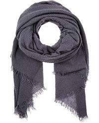 Destin - mega Wool-blend Scarf - Lyst