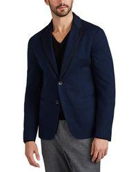 Giorgio Armani - Textured Cotton Two-button Sportcoat - Lyst