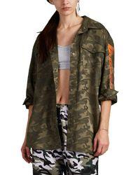 D-ANTIDOTE - seoulondon Camouflage Oversized Shirt - Lyst