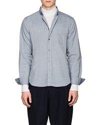 Acne Studios - Isherwood Cotton Chambray Button-down Shirt - Lyst
