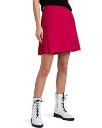 Le Kilt - Wool Crepe Mini-kilt - Lyst