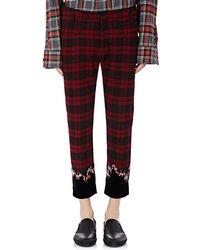 Haider Ackermann - Plaid Flannel Jeans - Lyst